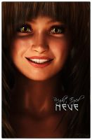 Bright Eyed Neve ... Our First Date by Tea-Rex