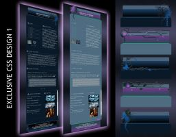 Exclusive CSS Design 1 by Elandria