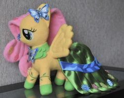 Fluttershy Galloping Gala Custom Plush by Suzie112