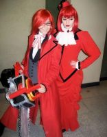 Madame Red and Grell Sutcliff by Gala-maia