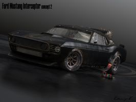 69 Mustang Interceptor aged 2 by RKGrafixx