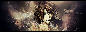 Squall Leonhart Sig. by Dvg by Dvilgabrimhf