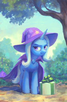 The Great and Giftful Trixie by Cannibalus