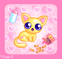 Baby Kitten by Princess-Peachie