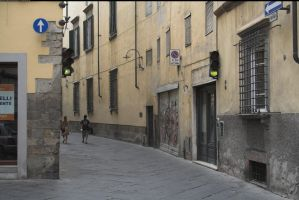 Lucca streets 2 by enframed