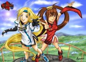 Millia and Jam by L-Rainbow