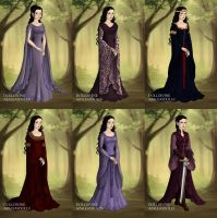 Arwen's Wardrobe from The Two Towers by LadyAquanine73551