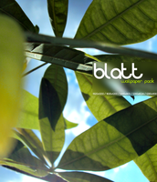 Blatt - Wallpack by realitydoesnotexist