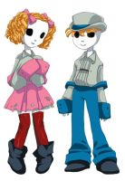 D.N.D. - Numbahs SandD Johnny and Helena by ZOE-Productions