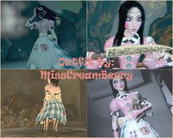 Alice Madness Returns - Halloween Doll Outfit by MissCreamBerry