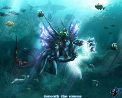 Beneath the waves by Ra-Seker