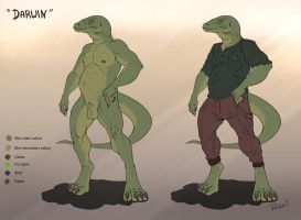 Darwin - Char sheet by dracenmarx
