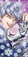 Jack Frost with Tiger Snow by RfourRfive