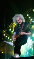 Brian May in Moscow by nurru