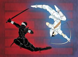 Balance - Snake Eyes + Storm Shadow by DeviouslyRatedM