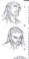 Qui-Gon faces by famira