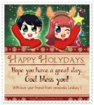 Holyday Card Proyect 2015 by AngelLinx3