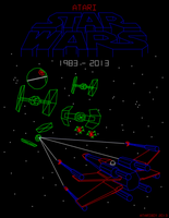 Atari Star Wars Arcade - 30th Anniversary by Atariboy2600