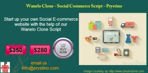 Wanelo Clone - Social Ecommerce Script @ $280 by Prystino