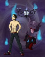 The Ghost type trainer by Feendra13
