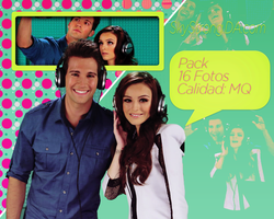PhotoPack 001 James Maslow y Cher Lloyd by SkyStrong