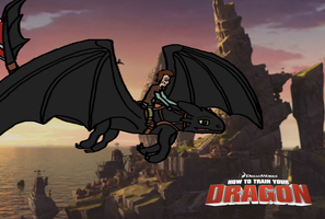 Hiccup and Toothless by Golloperaa