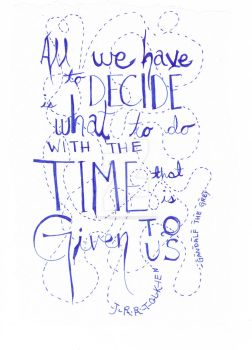 the time that is given us by The-Siriana
