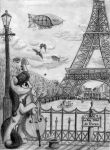 Octavia Travels Paris by NiegelvonWolf