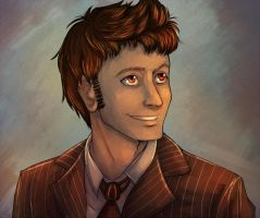 The Doctor Portrait by howlingvoice