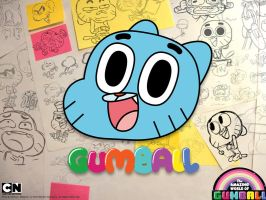 gumball the spontaniast cat! by andre00190