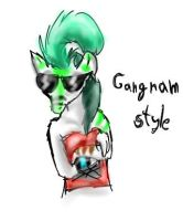 oppa gangnam style by CanineCriminal