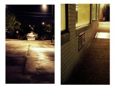 Down Darkened Streets by graviloquence