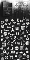 Free Various Photoshop Shapes by sarthony