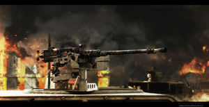 Browning M2HB by ABiator