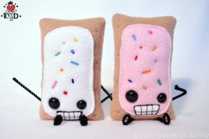tarty Mister Pop Tarts by brokensymphony