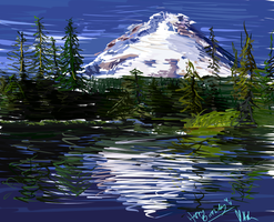 Mt. Hood by Kelkis