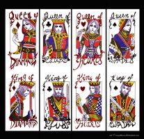 Kings And Queens by mlle-annette
