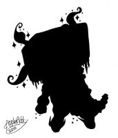 Monster Silhouette by AppleAtti
