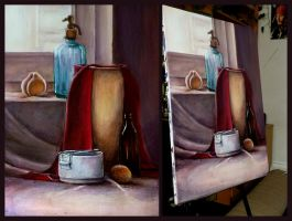still life practice 21.06.2012 by Benegeserit