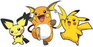 The Pichu Evolution by Dark-Infernape