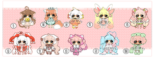 Chibi Adopts 7USD CLOSED by Hinausa