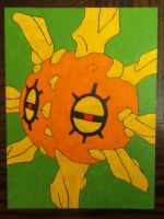 Solrock painting by TheScarecrowOfNorway
