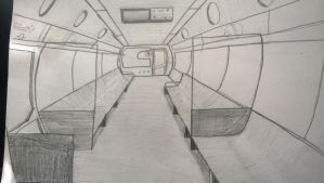Subway car sketch by LostSonic