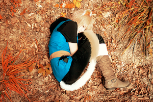 Lamento: sleeping cat by Chu-Momo