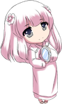 Kanna chibi by Lady-Suchiko