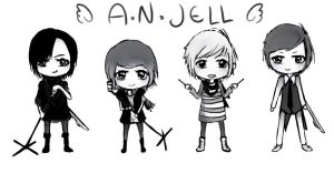 A.N.JELL by Xiela