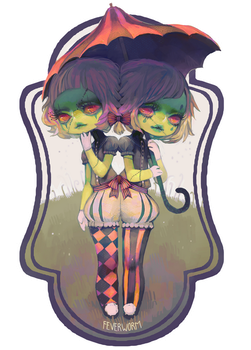 2 spooky by Chaotic-Muffin