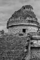 Observatory, Chichen Itza by pubculture