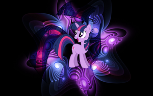{Wallpaper] Twilight Sparkle [MLP] by RicePoison