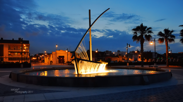 Sail Boat Fountain by Mxxm10